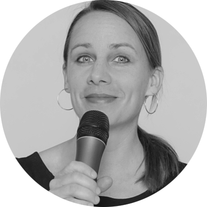 Sängerin Heike Laub